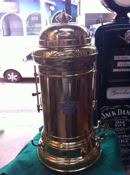 Cafeteira Antiga Monarca - Restaurada - Só Decoração