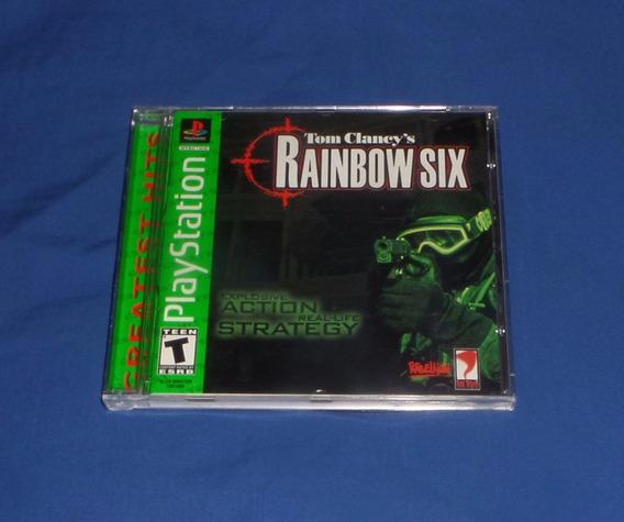 Rainbow Six Original Ps1 Excelente Estado