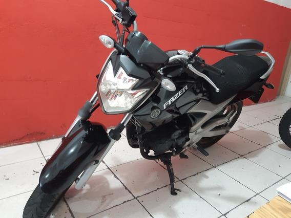 Yamaha Ys250 Fazer 2012 Preta