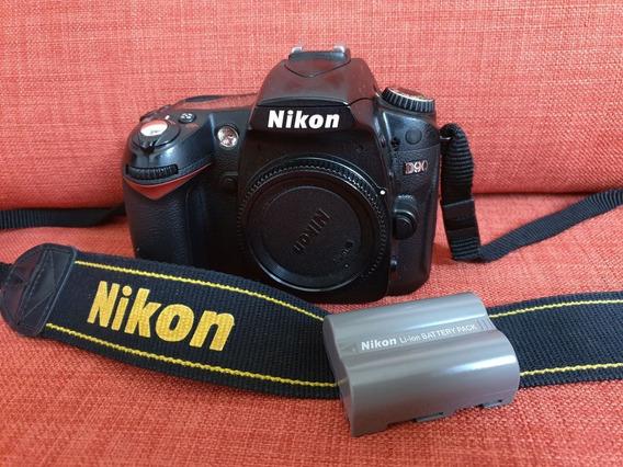 Nikon D90 Para Conserto Ou Retirada De Peças