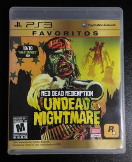 Red Dead Redemption Undead Nightmare Favoritos Juego Ps3
