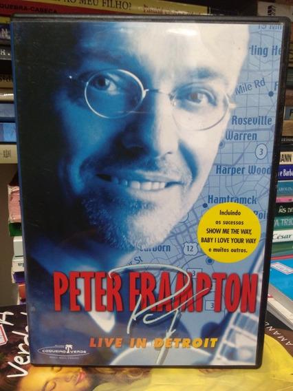 Dvd Peter Frampton - Live In Detroit.
