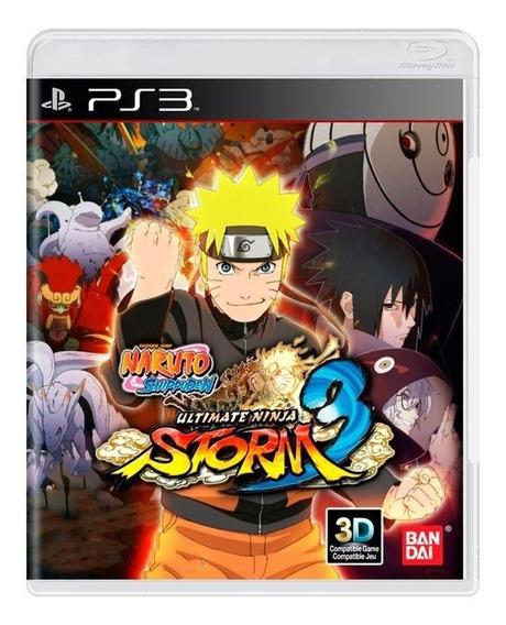 Naruto 3 + 14 Jogos Brinde Ps3