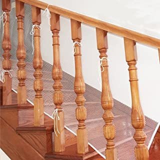 Hipiwe Rail Net 10ft L X 2.5ft H Indoor Balcony And Stairway