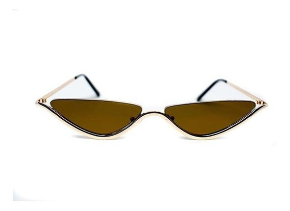 Lente De Sol Mini Agatado Color Marrón,glasses G3 M6941sd