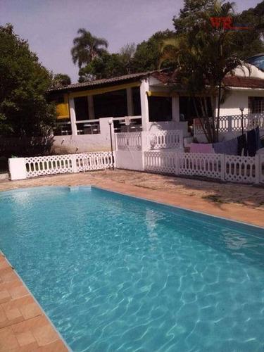 Imagem 1 de 7 de Chácara Com 2 Dormitórios À Venda, 3790 M² Por R$ 795.000 - Recanto Vital Brasil - Mauá/sp - Ch0044