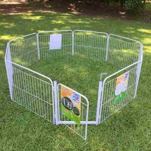Cercado Canil Pet Cão Cachorro 8/90 Portão + Kit Brinde Frgr