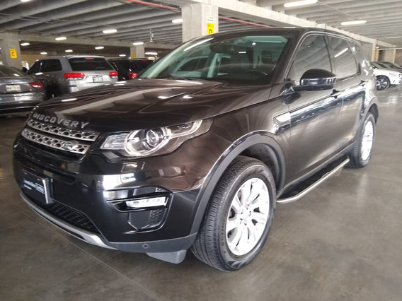 Land Rover Discovery Sport Hse 2.0t Aut. 2016 Negro
