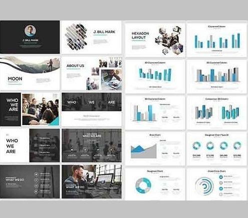Modelo Pronto De Apresentação Em Powerpoint Empresarial