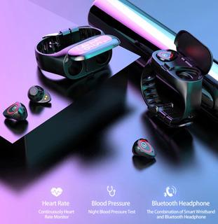 Relógio Inteligente Smartwatch Com Fone Bluetooth Acoplado