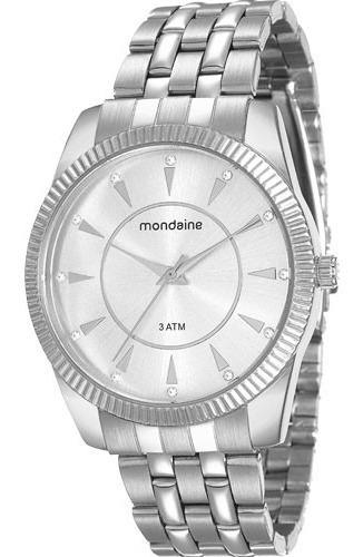 Relógio Mondaine Novo Frete Grátis- 12x S/juros 76507l0mvne2