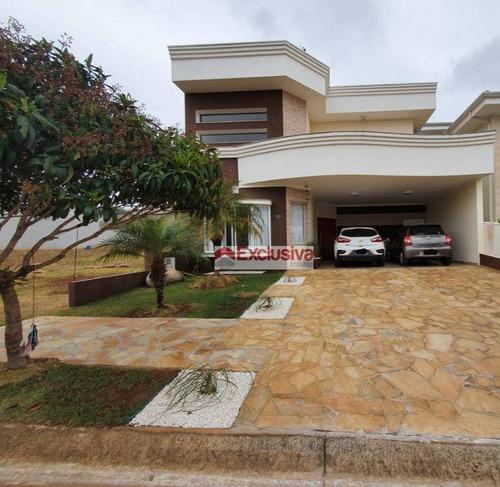Casa Com 3 Dormitórios À Venda, 209 M² Por R$ 860.000,00 - Condomínio Aurora - Paulínia/sp - Ca1800