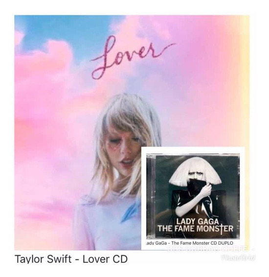Cd Taylor Swift Lover E Lady Gaga The Fame Monster