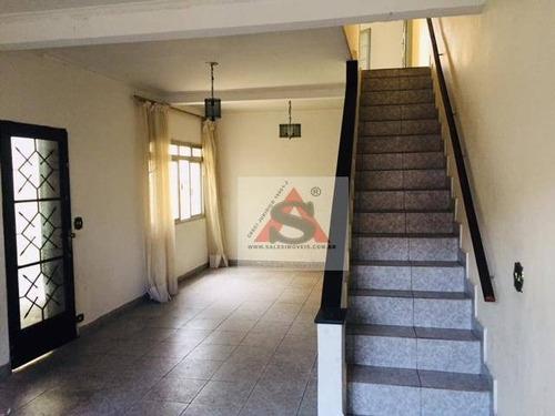 Sobrado Com 3 Dormitórios À Venda, 200 M² Por R$ 620.000,00 - Jardim Da Saúde - São Paulo/sp - So4562
