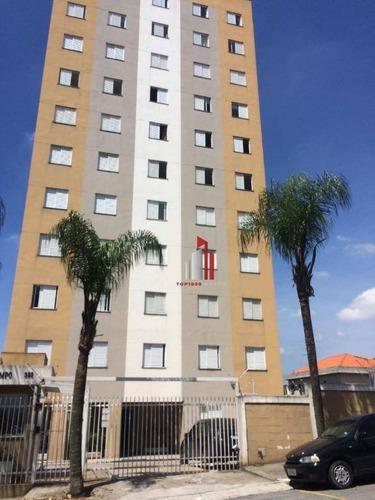 Apartamento À Venda, 73 M² Por R$ 340.000,00 - Parque Rebouças - São Paulo/sp - Ap1221