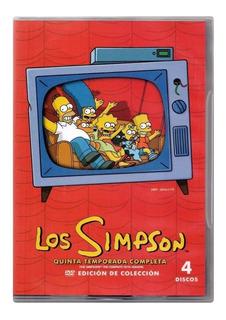 Los Simpson Temporada 5 Cinco Quinta Serie Dvd