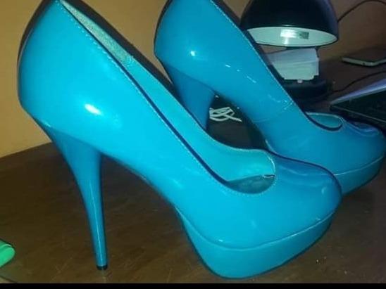 Zapatos Charol Turquesa-charlotte Russe