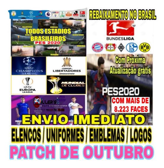 Patch Pes 2020 Ps4 - Brasileirão 2019/2020 + Atualização Grátis