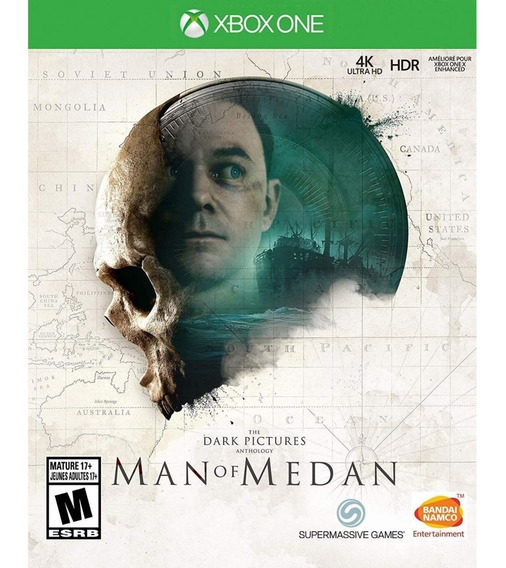 The Dark Pictures Man Of Medan Xbox One Mídia Física Novo