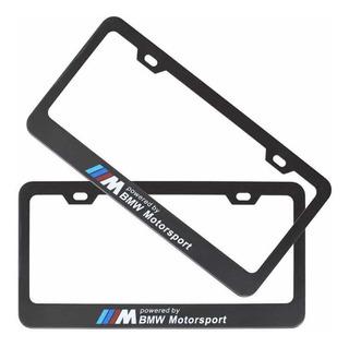 Porta Placa Bmw M Motorsport Acero Inoxidable