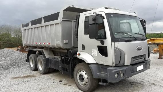 Ford Cargo 2629, 2013, Caçamba Basculante, 6x4, Prata