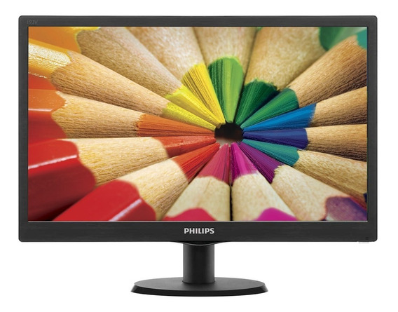 Monitor Pc 19 Pulgadas Philips Led Hdmi Vga 1366 X 768