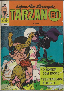 1974 Hq Quadrinhos Tarzan Bi Nº 42 - 1ª Série Editora Ebal