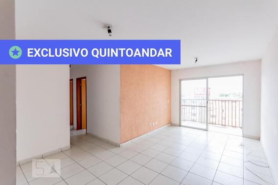 Apartamento No 4º Andar Com 2 Dormitórios E 1 Garagem - Id: 892956443 - 256443