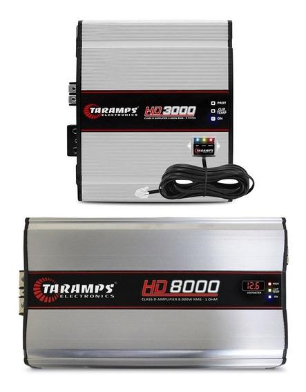 Hd-3000 + Hd-8000 Ambos 1 Ohm