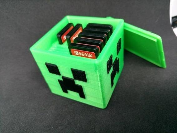 Nintendo Switch Case Estuche Para Juegos
