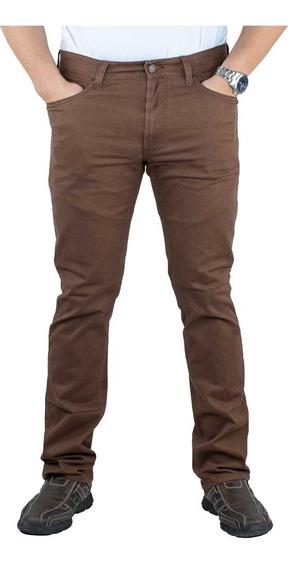 Pantalón Breton De Gabardina Slim Fit. Estilo Bjm046