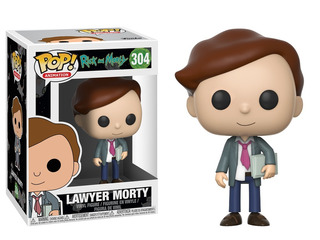 Funko Pop Lawyer Morty 304 - Rick And Morty