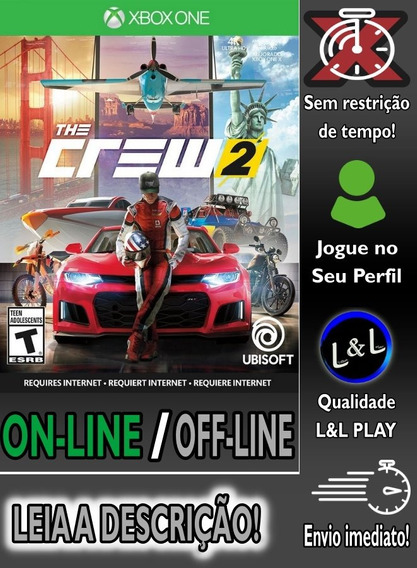 The Crew 2 Ed. Deluxe Xbox One On/off S/restrição + Brinde