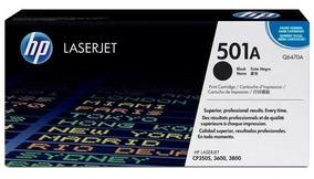 Toner Hp Q6470a Black 100% Original (lacrado) 501a