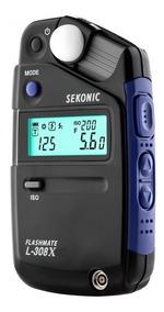 Fotometro Sekonic L-308x Flashmeter - Lacrado Lançamento