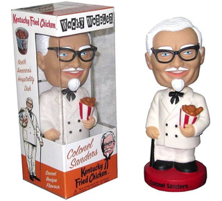 Funko Wacky Wobbler Colonel Sanders Nuevo En Stock