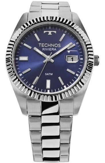 Relógio Technos Masculino Classic Riviera 2415ci/1a