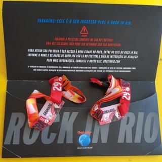 Kit 2 Ingressos Inteira Classe A Rock In Rio 29/09 Bon Jovi.