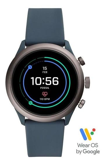Smartwatch Fossil Sport Unissex Grafite Ftw4021/8fi