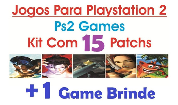 Jogos Patchs Ps2 Playstation 2 - Ps2 Games