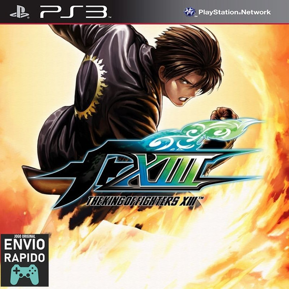 Kof 13 The King Of Fighters Xiii - Jogos Ps3 Original