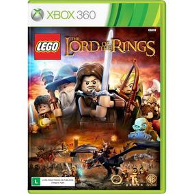 Lego Senhor Dos Anéis Xbox 360 Original Novo Frete Grátis
