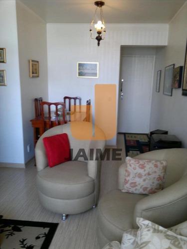 Apartamento Para Venda No Bairro Santa Cecília Em São Paulo - Cod: Ja5581 - Ja5581