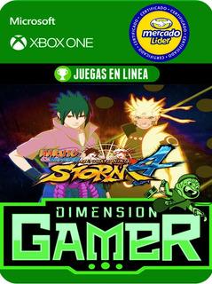 Naruto Ultimate Ninja Store 4 - Xbox One - Online/offline