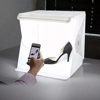 Mini Estudio Fotográfico Luz Led Light Room Foto Profesional