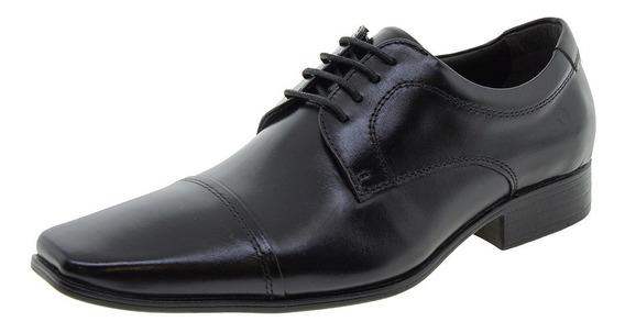 Sapato Masculino Social Preto Democrata - 450052