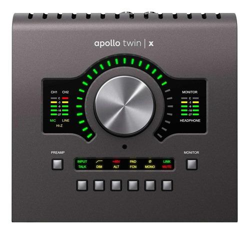 Imagen 1 de 3 de Interface Universal Audio Apollo Twin X Duo 100V/240V