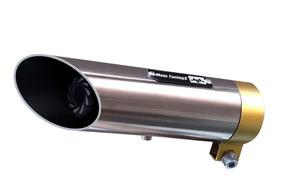 Escapamento Esportivo Cbx Twister Carburada (2001 - 09) Inox