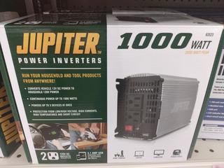 Jupiter Inversor Corriente 1000w/2000w Auto Paneles Solares