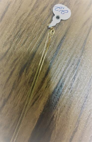 Corrente De Ouro 18k 45cm - Gjauc717